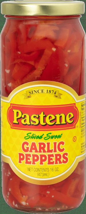 Sliced Sweet Garlic Peppers