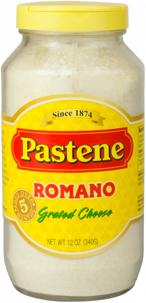 Grated Romano Cheese - 12oz jar