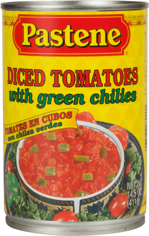 Diced Tomatoes with Green Chilies