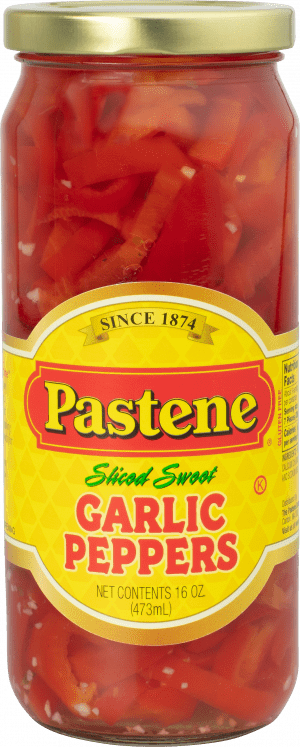 Sliced Sweet Garlic Peppers