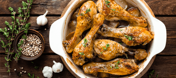 Garlic Chicken Drumsticks
