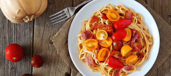 Tri Color Tomato Linguine